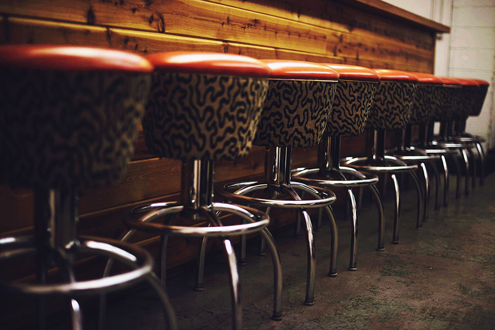 bar stools in Denver